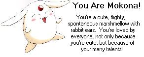 You are Mokona!